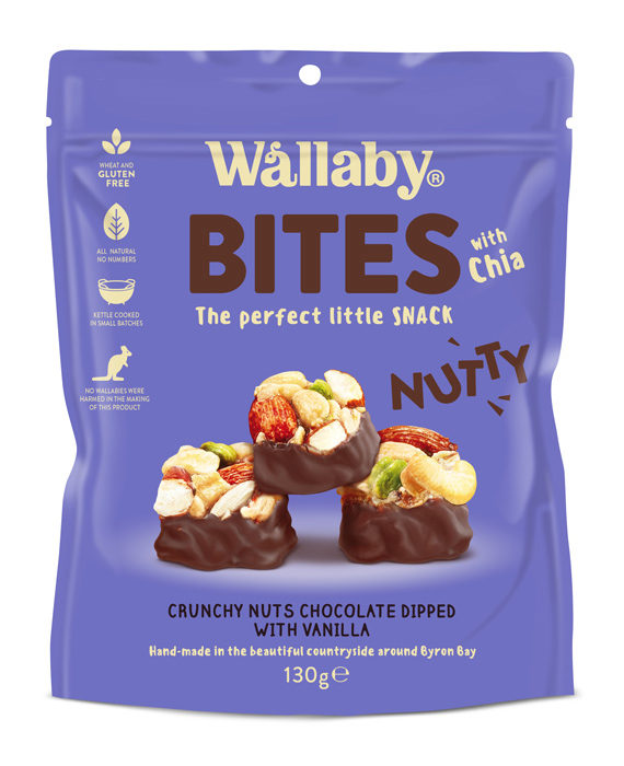 Wallaby Nutty Bites Vanilla